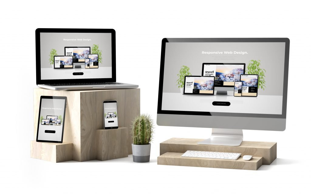 Web design examples image Guildford